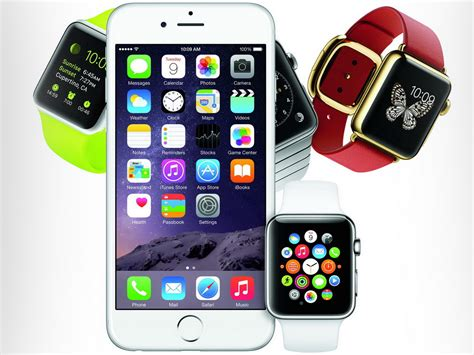 Smartwatch Iphone 6 Apple Smartphone Iphone 6 Und Smartwatch Apple