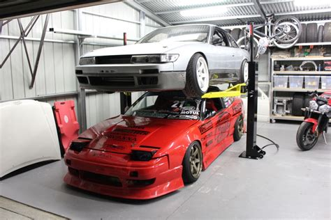 Stacking Cars In Garage by Ets Garage Stacking Em Up Engineered To Slide