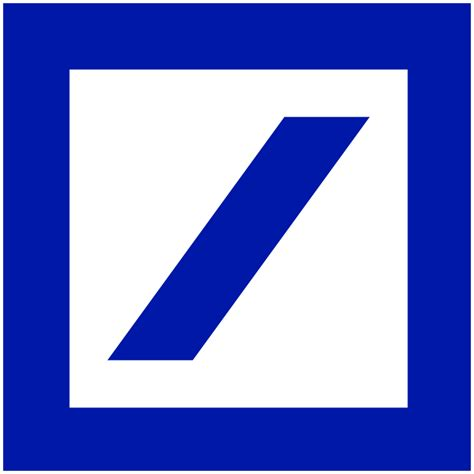 deutsche bank gegründet file deutsche bank logo without wordmark svg wikimedia