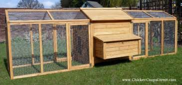 Hen Hutch Hen House With Large Run