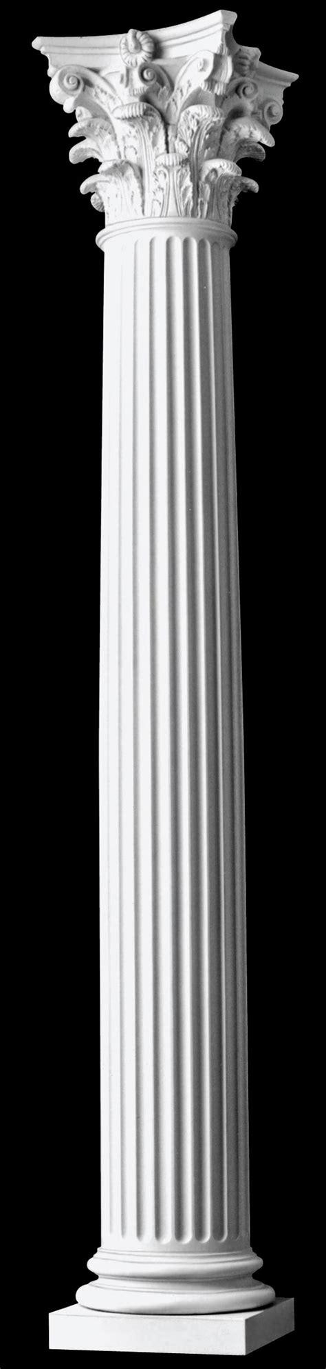 architectural columns fluted corinthian wood columns