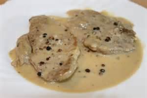 reteta culinara cotlet de porc cu sos de piper bucataras