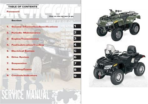 arctic cat atv  efi service manual  cat wallpaper