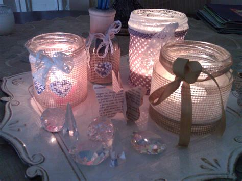 candele shabby tutorial per realizzare dei porta candele shabby chic il