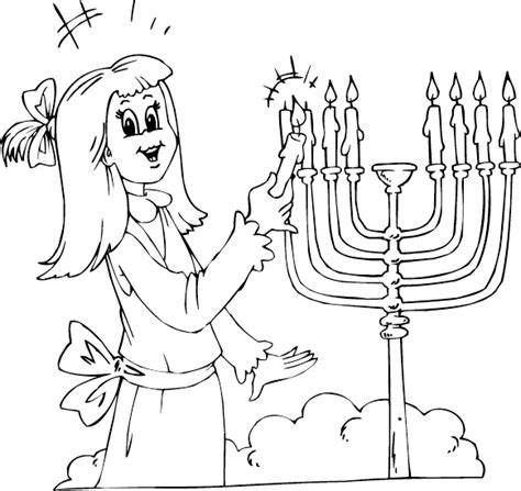 index of coloringpages hanukkah coloring pages girl lighting menorah coloring page coloring com
