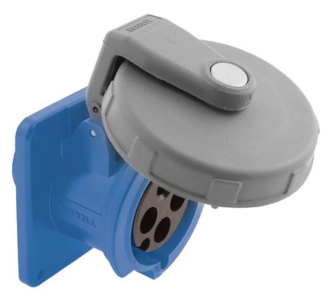 hubbell hbl4100r9w pin and sleeve watertight receptacle 3