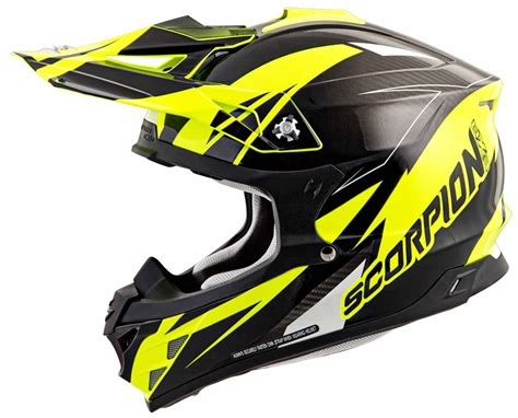 scorpion motocross helmets scorpion vx 35 off road dirt bike mx helmet dot ece