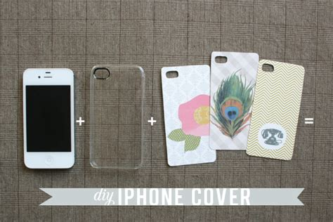 design your cover iphone diy iphone cover tutorial freebie jones design company