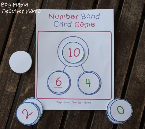 printable number bond cards free printable number bond games a muslim homeschool fun