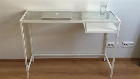 Dezka Top glass top desk ikea roselawnlutheran