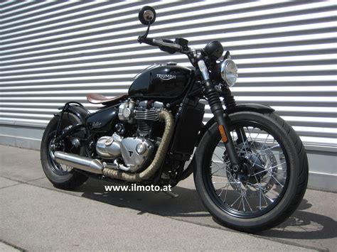 Motorrad Umbau Wien by Umgebautes Motorrad Triumph Bonneville Bobber Il Moto