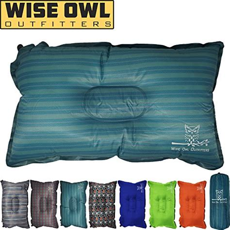 wise owl outfitters camping pillow lightweight
