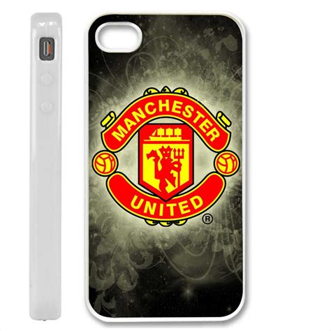 Iphone 4 4s Manchester United Stripe Black Cover Casing manchester united black special design iphone 4 cover on luulla