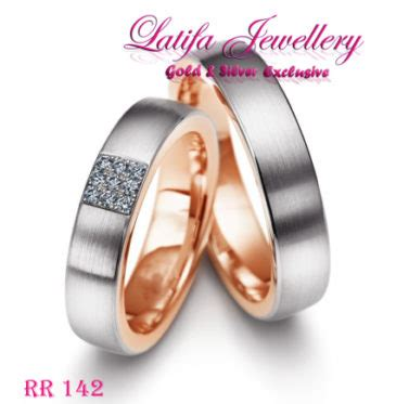 Cincin Kawin Palladium Black Gold cincin kawin emas gold rr 142 toko perhiasan terbaik cincin kawin tunangan