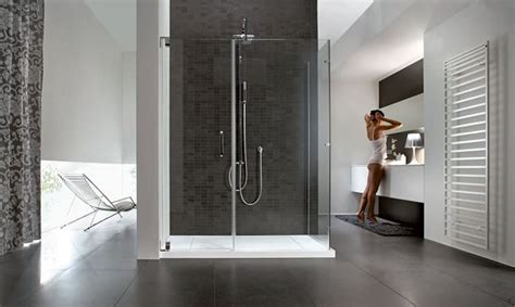 immagini di docce doccia passante bagno come installare una doccia passante