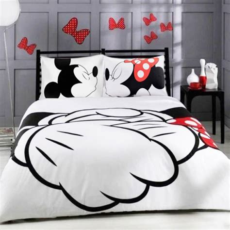 mickey mouse bedding queen size mickey mouse bedding set cartoon kids favorite home