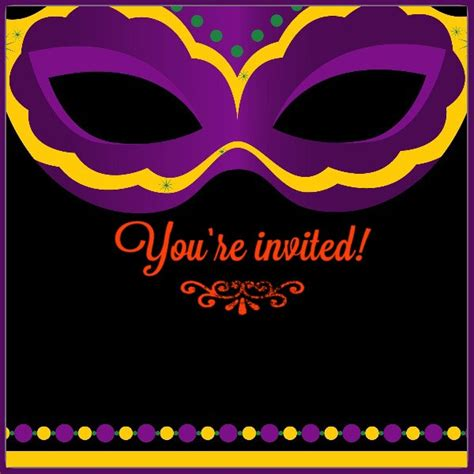 mardi gras invitations templates free printable mardi gras invitation card invitations