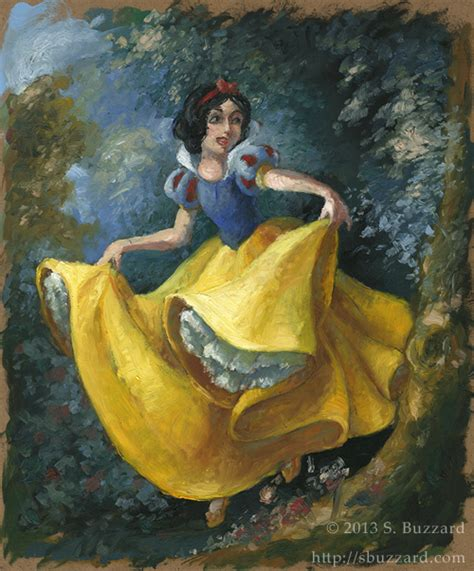 painting snow white disney s snow white by sbuzzard on deviantart
