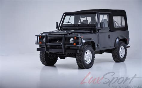 1997 land rover defender 1997 land rover defender 90 open top stock 1997104 for