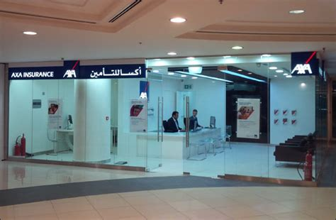 Motor Trade Insurance Axa by Axa S First Shop Opens In Qatar City Centre Committed To