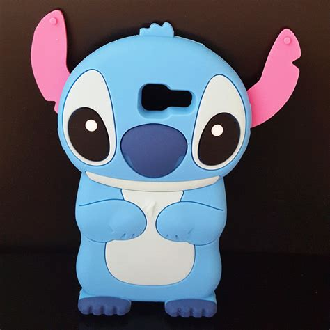 Samsung A5 2016 A510 Stitch 3d Karakter Soft Casing Cover new 3d stich soft silicone back cover lilo stitch for samsung galaxy a5 2016