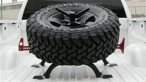 spare tire bed mount bed mount tire carrier ford wilcooffroad