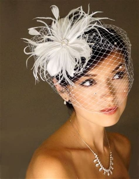bridal hairstyles with birdcage veil wedding hair styles to wear with birdcage veils