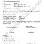 contoh surat keterangan melaksanakan tugas guru skmt