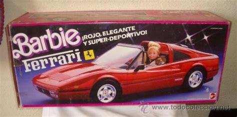 barbie ferrari ferrari de barbie mattel caja original a estren comprar