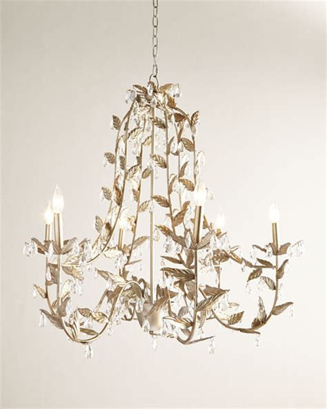 add value to your home using ceiling chandelier lights warisan lighting cascading leaves 6 light chagne chandelier neiman