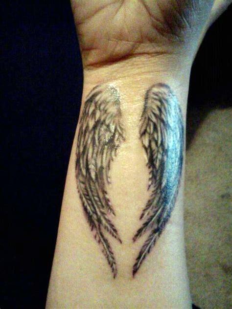 tattoo angel wrist angel tattoo on wrist cool tattoos bonbaden