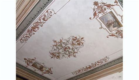 pittura per soffitti dipinti restauro soffitti torino ocrarossa