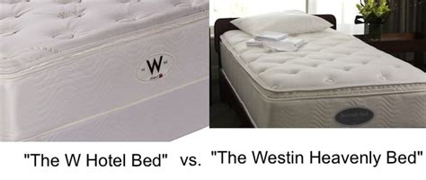 Starwood Hotel Mattress by The W Hotel Bed Vs The Westin Heavenly Bed Part One