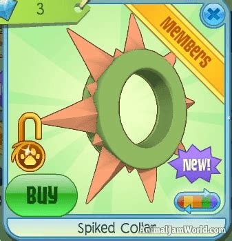 animal jam rares rare spikes animal jam rare spikes how to get a spike collar or