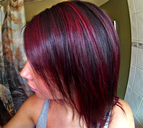 highlights and lowlights for red hair hair color highlights and lowlights for black hair red