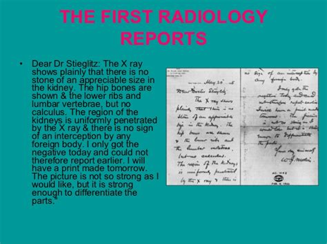 radiology report sles how to write a decent radiological report