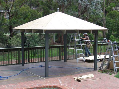 diy patio roofing installation outdoor living garden