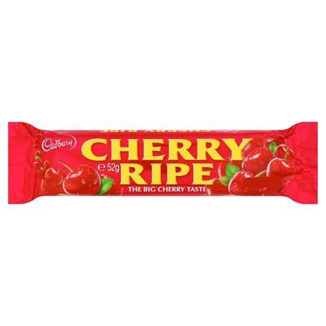 Cadbury Cherry Ripe 180g cadbury cherry ripe 52g from ocado