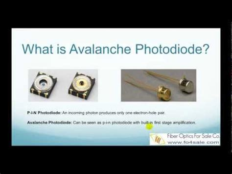 avalanche photodiode nptel photodiode