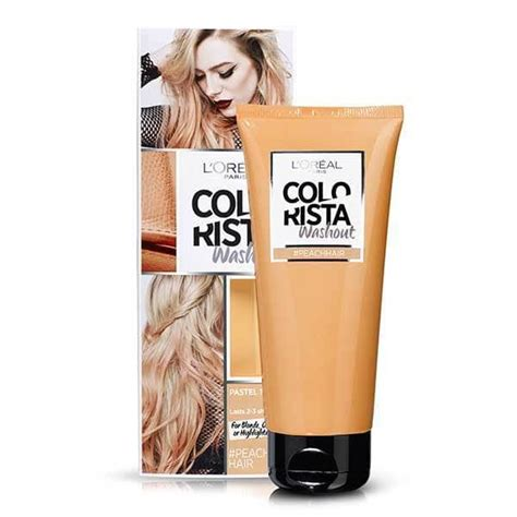 Wash Out Hair Color by Colorista Washout Semi Permanent Hair Dye Superdrug