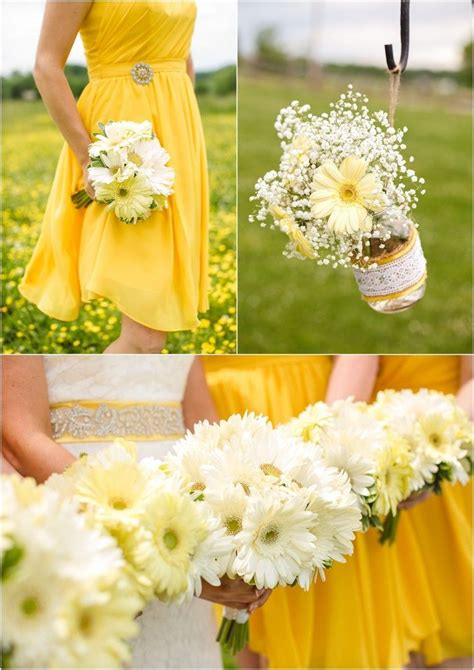 25 best images about yellow white wedding on yellow wedding decor white wedding