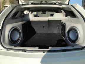 dodge magnum custom subwoofer box image 238