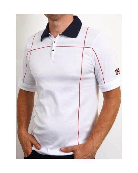 Polo Shirt Fila Keren Terlaris fila vintage terrinda mk3 polo shirt white fila vintage terrinda polo