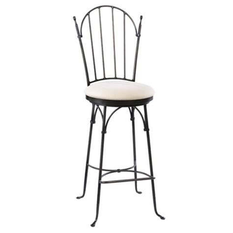 wrought iron stools counter height shaker arch wrought iron swivel counter stool 26 in seat