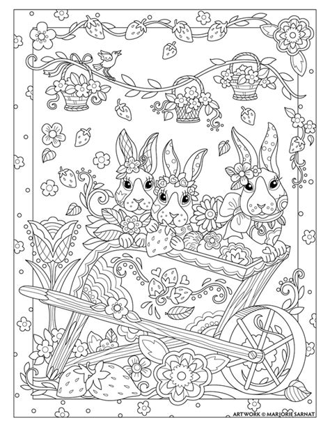 easter cats kittens coloring book books pered pets marjorie sarnat design illustration