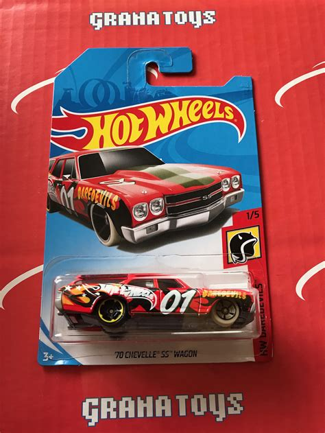 70 Chevelle Ss Wagon By Hotwheels Custom 70 chevelle ss wagon daredevils 2018 wheels a