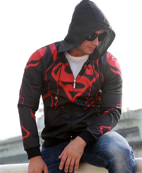 Hoodie Zipper Avenger Anak 1 Dealdo Merch 2015 marvel superman costume hoodies