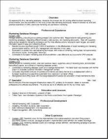 Warehouse Job Description For Resume Database Manager Resume