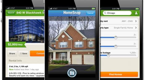 real estate app new iphone apps for real estate buyers and renters the