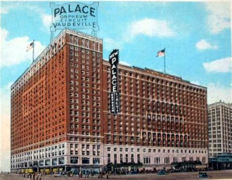 cadillac place chicago palace cadillac palace bismarck theatre chicago